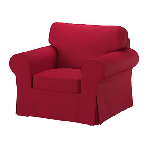 ektorp chair cover nordvalla red ikea