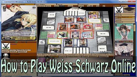 Weiss Zu Schwarz by How To Play Weiss Schwarz