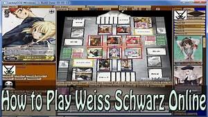 Tischläufer Schwarz Weiß : how to play weiss schwarz online youtube ~ Frokenaadalensverden.com Haus und Dekorationen