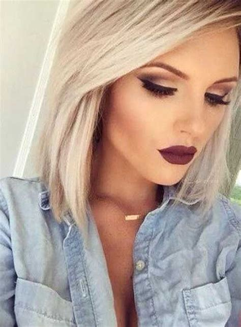 With Blond Hair by 40 Hair Makeup Makeup