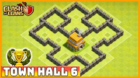 clash clans level defense townhall hall base town layout th5 strategy coc trophy clan cool defensive th th6 bases strategies