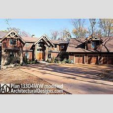 Fabulous Mountain Home Plan  13304ww  Architectural