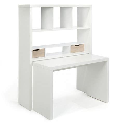 bureau modulable blanc avec 233 tag 232 res et tiroirs twisty bureau ameublement salon s 233 jour et