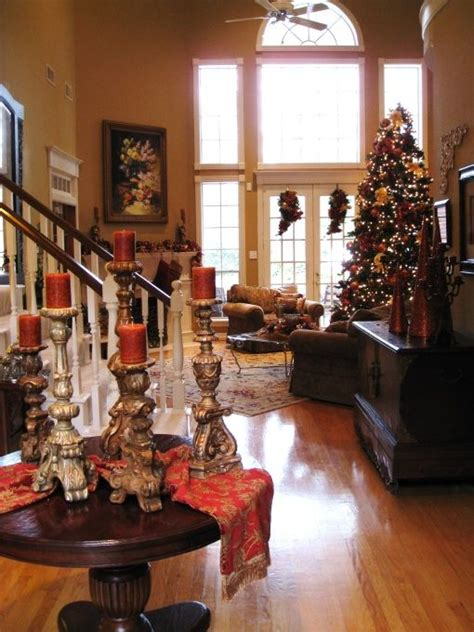 tuscan christmas tuscan home pinterest
