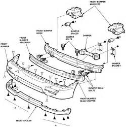 similiar prelude bumper schematic keywords 93 honda prelude wiring diagram get image about wiring diagram