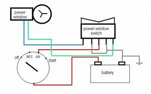 Proton Wira Power Window Wiring Diagram