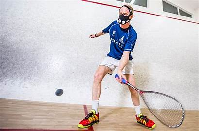 Squash Players Player Mask Cayman Ahead Times
