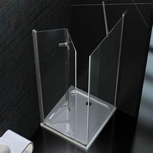 Falttür Mit Glas : faltt r duschkabine 90 x 90 cm 8mm esg glas mit acryl duschwanne ebay ~ Sanjose-hotels-ca.com Haus und Dekorationen