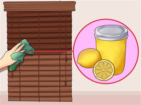 Where Can I Get Blinds by 3 Ways To Clean Wood Blinds Wikihow