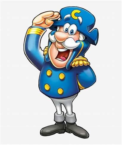 Crunch Captain Cereal Cap Capn Characters Transparent
