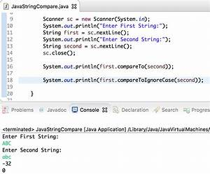 java string compare journaldev With java string template
