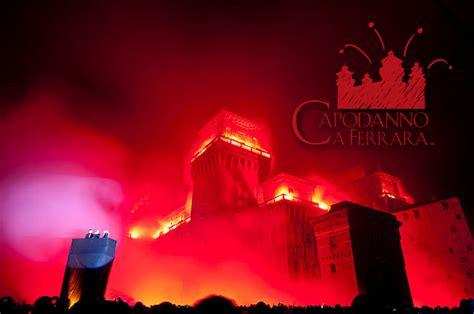 capodanno  ferrara banchetto  incendio del castello