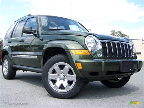 jeep metallic 2007 jeep green metallic jeep liberty limited 4x4