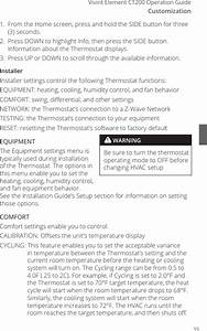Ct200r1 Thermostat User Manual Ct200 Userguide Rev 0 1