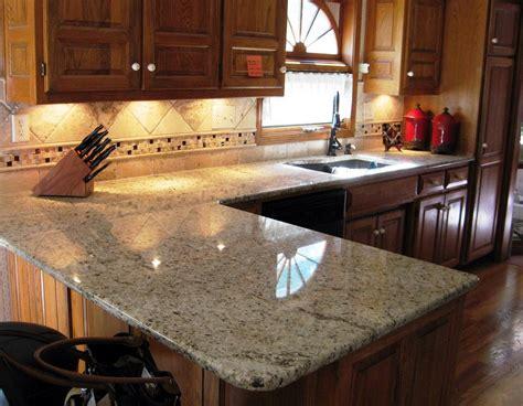 granite kitchen countertop ideas santa cecilia light granite to create and modern