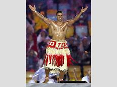Shirtless Tonga Flag Bearer Shines Yet Again at Olympic