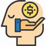 Money Icon Icons Mind Knowledge Human Think