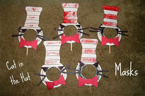 cat in the hat masks crafts for pbs parents 871 | cith final