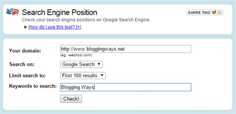 search engine positioning 5 best websites to check keyword positioning in