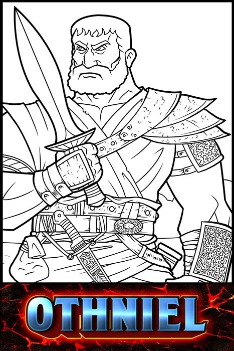 judges   bible othniel  heroes   bible coloring pages