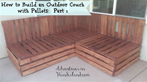 how to build a patio outdoor patio furniture covers how to build an outdoor with pallets part 1
