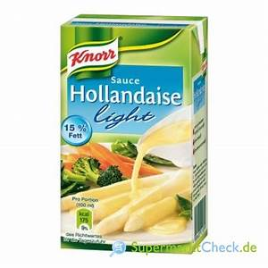 Sauce Hollandaise Nährwerte : knorr sauce hollandaise light tafelfertig 15 fett kalorien angebote preise ~ Markanthonyermac.com Haus und Dekorationen