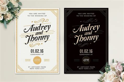 wonderful wedding invitation card design samples