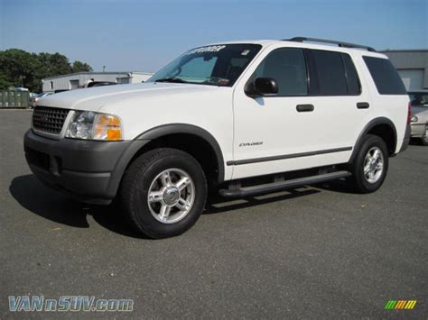 2004 Ford Explorer Xls 4x4 In Oxford White
