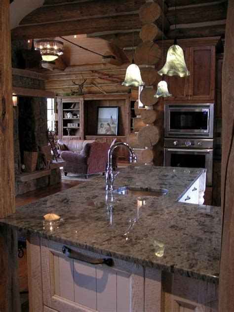 Koselig Log Cabin Interior Photo   Contemporary   Kitchen