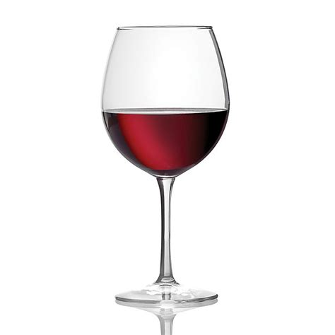 Red wine glass and bottle. Dailyware™ Red Wine Glasses (Set of 4) | Bed Bath & Beyond