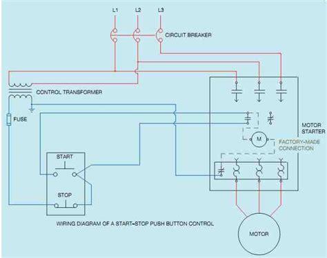 Start Stop Station Wiring Diagram by Industrial Motor General Principles Of Motor