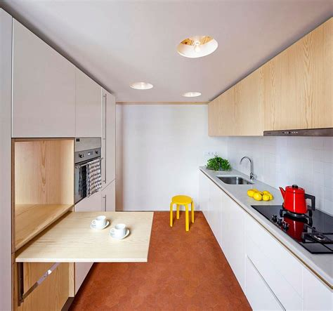 Spacesavvy Kitchen And Mezzanine In Small Barcelona Apartment