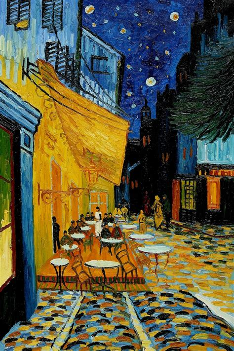 cafe terrace at gogh cafe terrace at