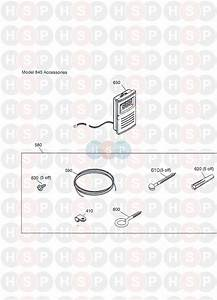 Baxi Bermuda 15 He  Accessories  Diagram