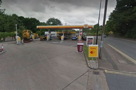 Shell Garage Road by Robbers Jailed After Threatening Security Guard With