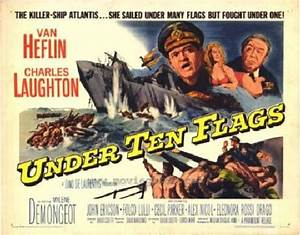 Under Ten Flags 1960 Movie Review 2020 Movie Reviews