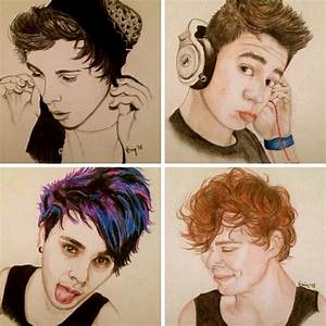 The 25+ best 5sos drawing ideas on Pinterest | 5sos art, 5 ...