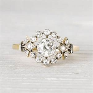 2305 best vintage rings images on pinterest With antique victorian wedding rings