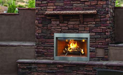 superior   laredo outdoor wood burning fireplace
