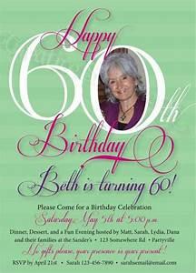 free printable 60th birthday invitations templates With 60th birthday invites free template