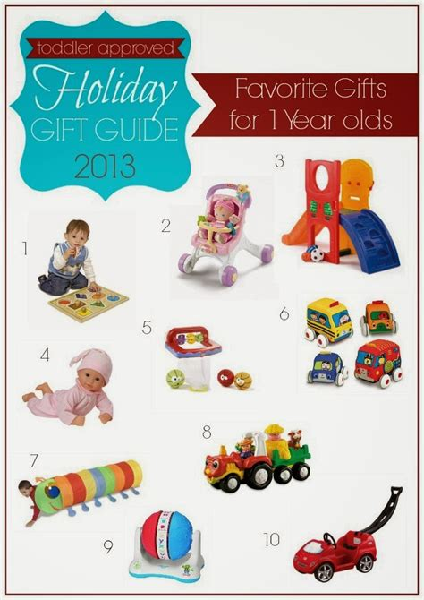 toddler approved favorite gifts for one year olds