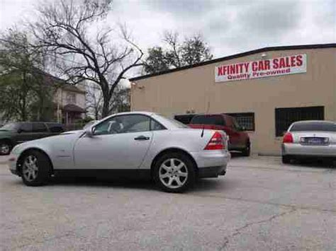 I have read all of the similar posts & they were not the same symptoms. Purchase used 99 MERCEDES BENZ SLK 230 COMPRESOR CONVERTIBLE LEATHER WARRANTY in Houston, TX ...