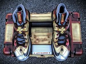 "Nike LeBron X ""Ironman 3"" Customs by Mache for LeBron ..."
