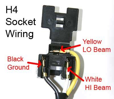 H4 Halogen Bulb Wiring Diagram by H4 Bulbs Page 2