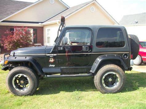 tan jeep wrangler 2 door find used 1999 jeep wrangler sahara sport utility 2 door 4