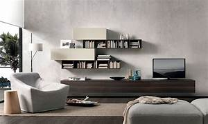 Resourceful Living Room Wall Unit Adapts To Suit Your