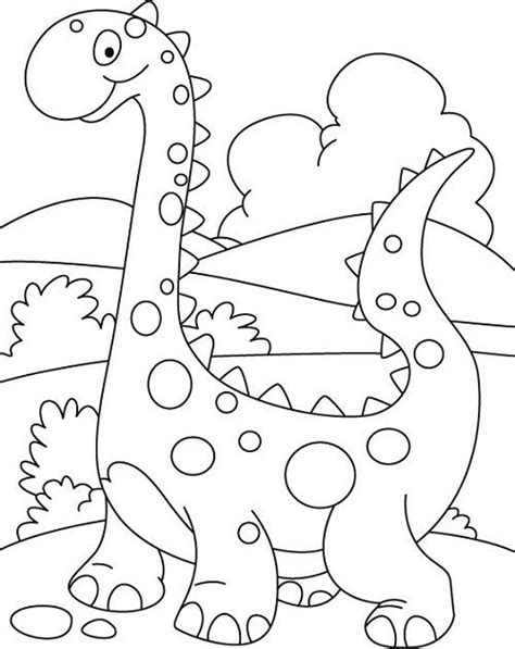 dinosaur coloring pages  preschoolers  art projects