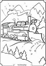 Coloring Steam Engine Getdrawings Getcolorings Printable Trains sketch template