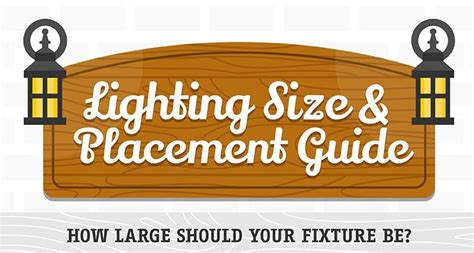 Practical Lighting Size&placement Guide For Every Corner