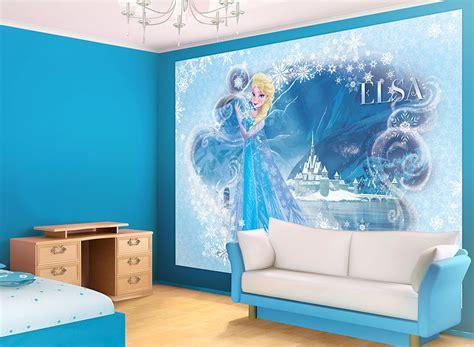 chambre la reine des neiges chambre princesse disney